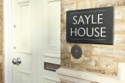 Sayle House Front Sign