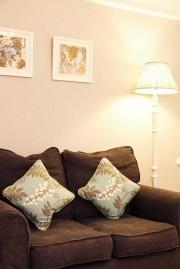 Wisteria Room Sofa And Lamp
